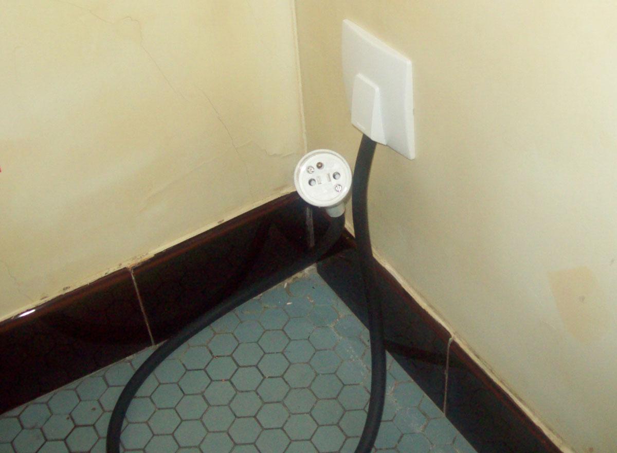 Dimelec prise électrique changée avec terre