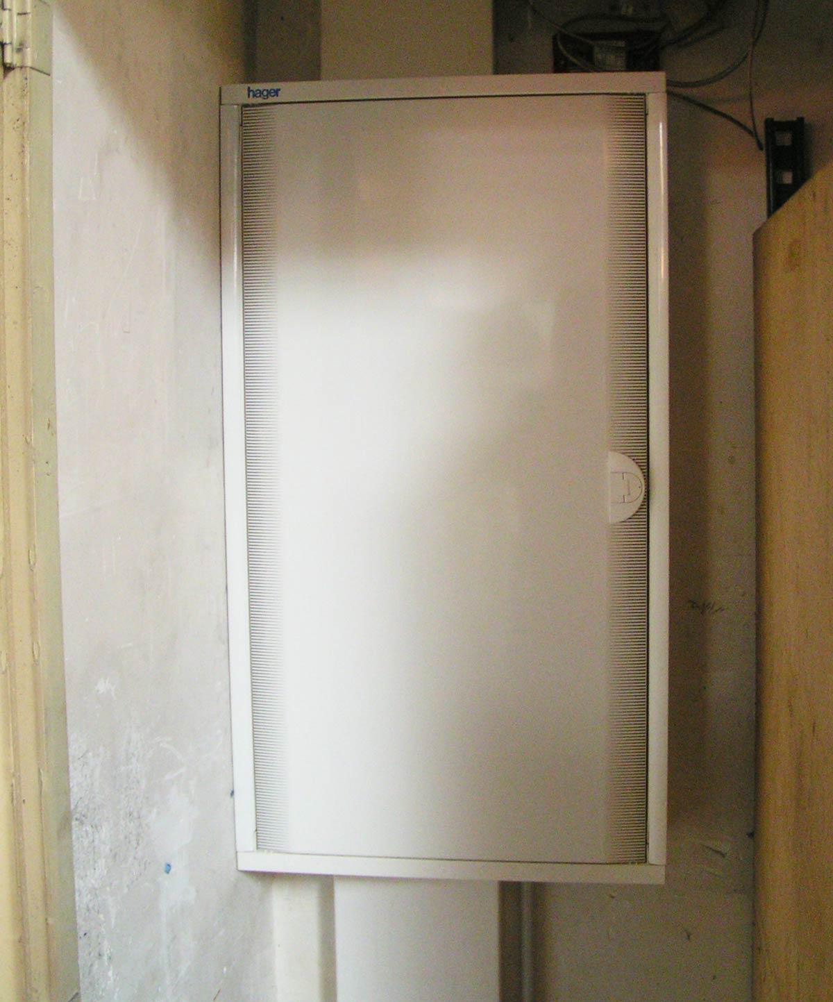 Dimelec rénovation tableau électrique fermeture mise aux normes Bruges