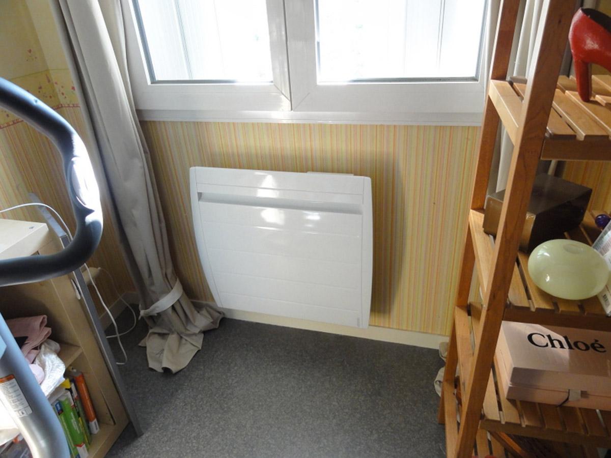 Dimelec électricité générale installation et montage de chauffages électriques ATLANTIC à la Gendarmerie de Saint-Médard