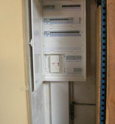 Mise à neuf d'une armoire électrique – Bruges